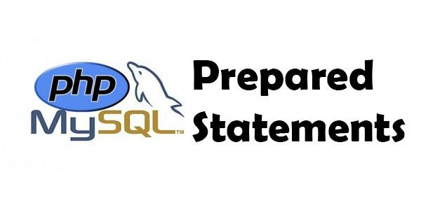 PHP MySQL Prepared Statements